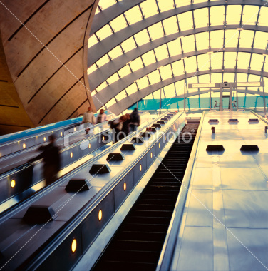 Canary Warf underground station