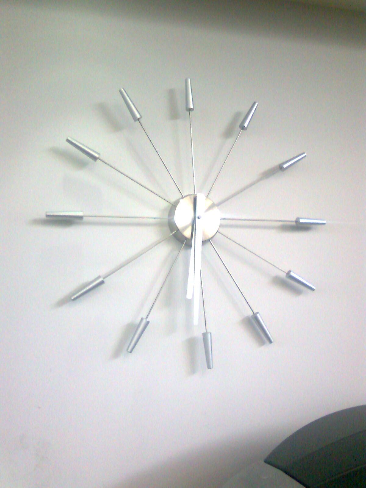 Design stupido applicato ad un orologio da parete