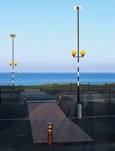 Tynemouth, Northeastern England, just before the evening