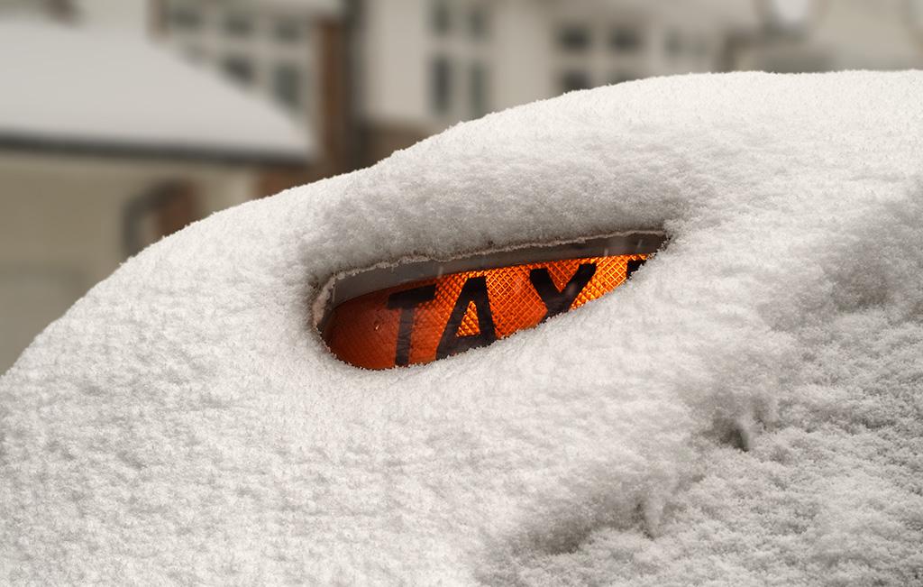 Gli inglesi, la neve e le strade