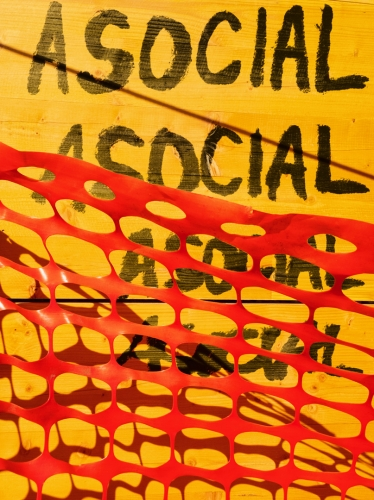 Social media graffiti