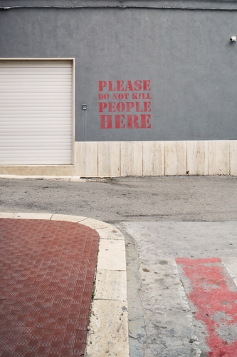 please do not kill people here